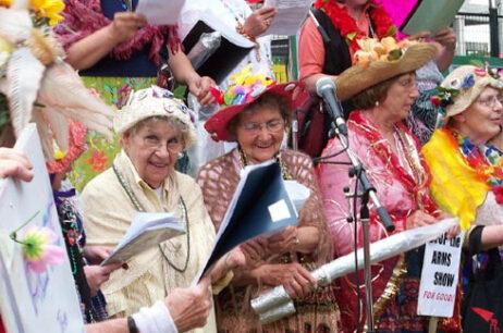 raging grannies