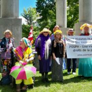 Grannies at Acorn Rally