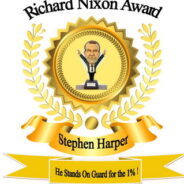 Harper presented with Richard Nixon Award