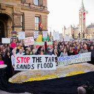 Anti-pipeline rally