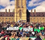 People's Climate March — Ottawa Photo Op