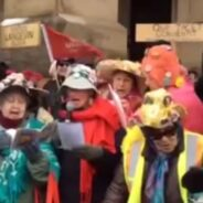 Ottawa Grans at National Day of Protest against Bill C-51